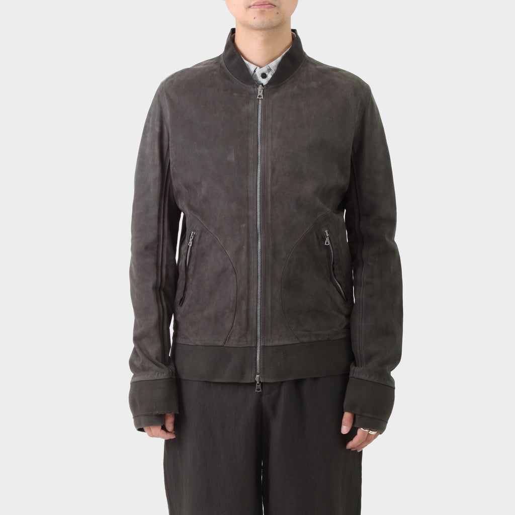 Isaac Sellam Leather Reversible Bomber Jacket