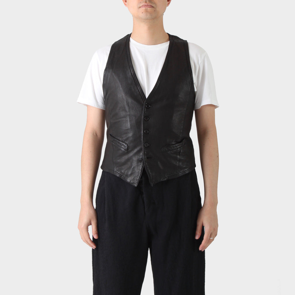 Neil Barrett Lamb Leather Vest