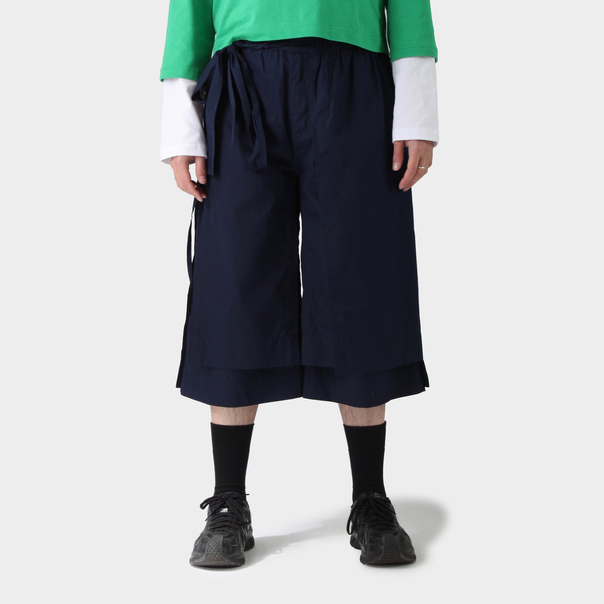 Craig Green Navy Layered Shorts