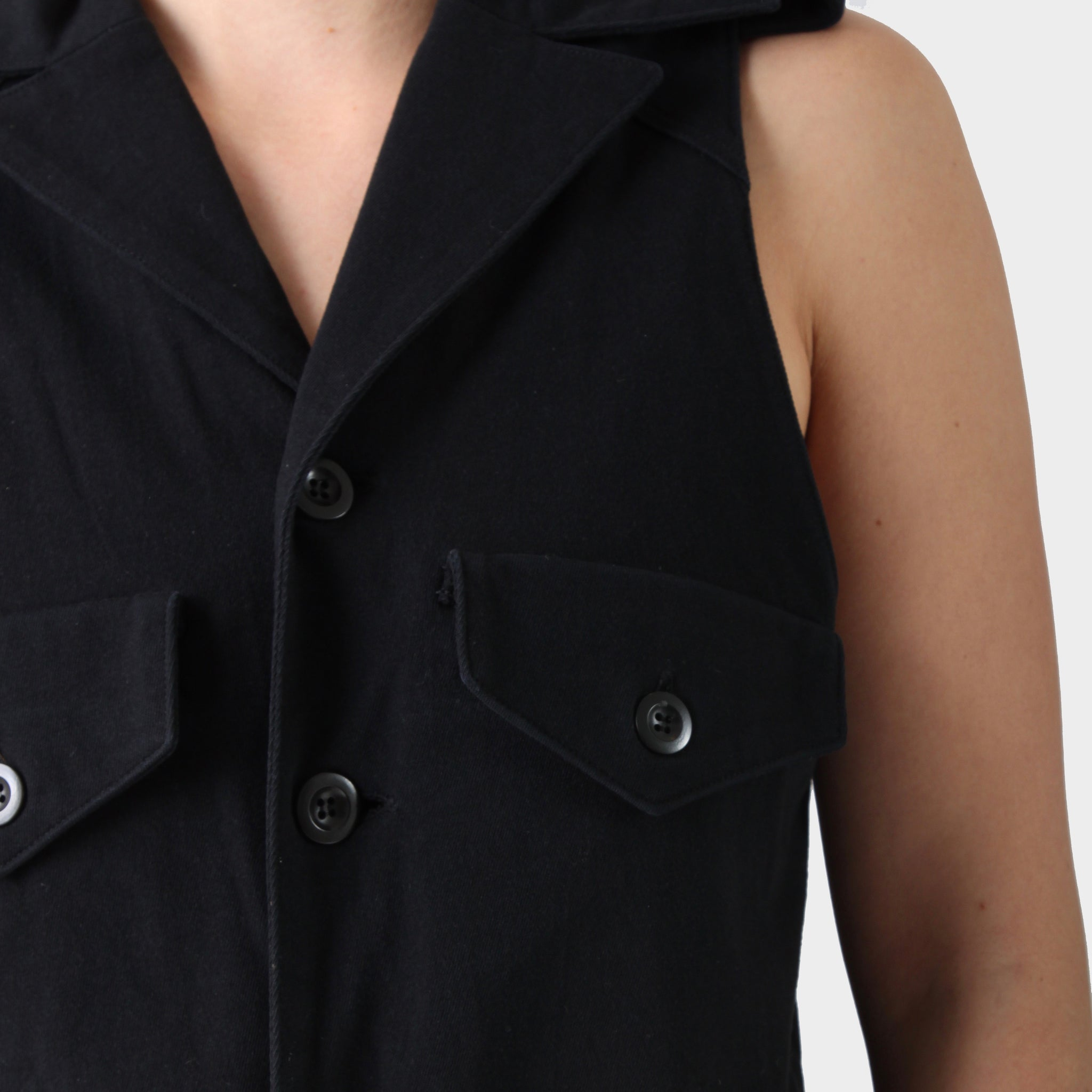 Y's Red Label Heavy Cotton Vest