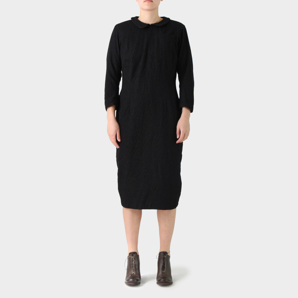 Paul Harnden Shoemakers Wool Peter Pan Collar Dress