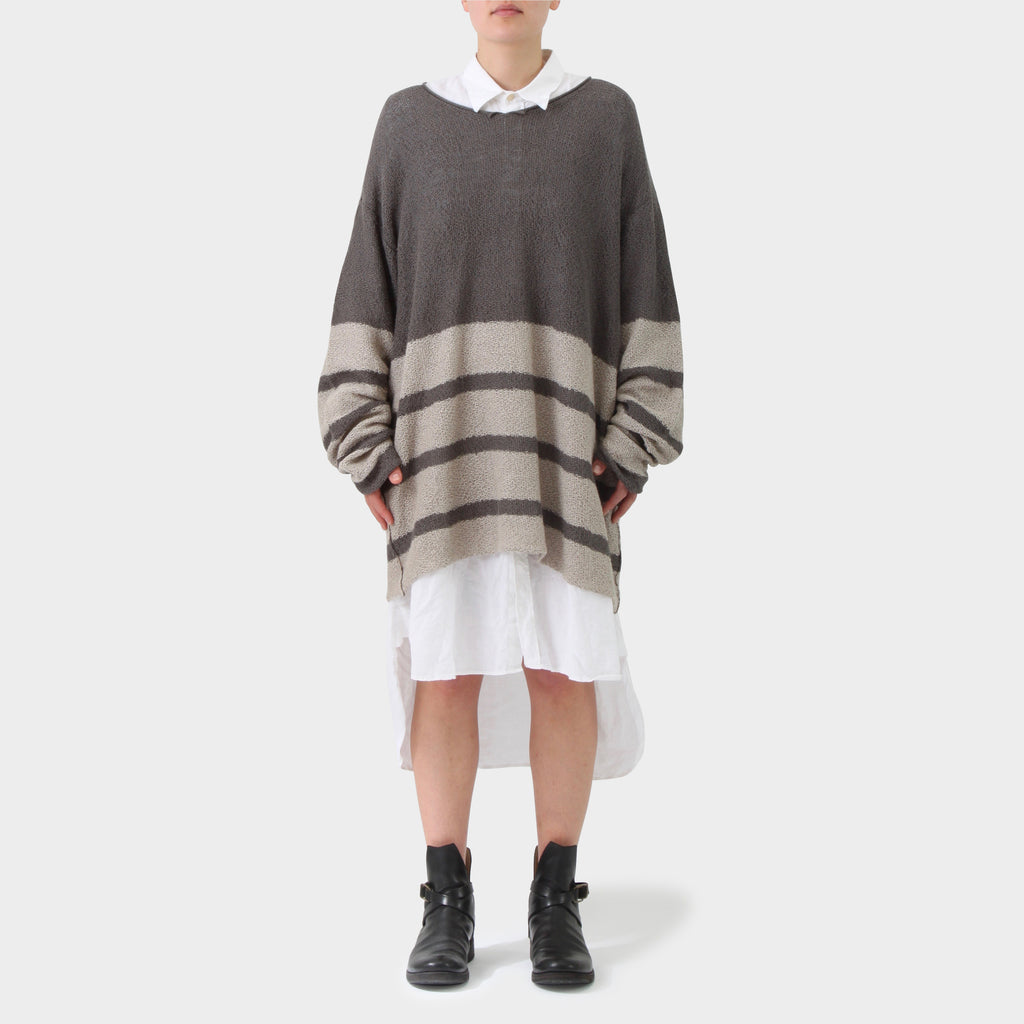 Daniel Andresen Linen Oversized Striped Knit
