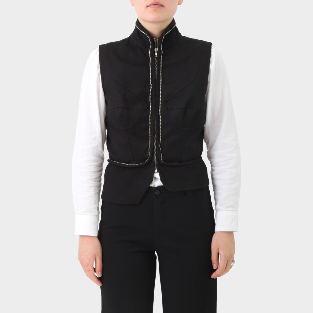 Hussein Chalayan Zippered Convertible Vest