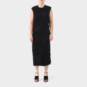 Uma Wang Long Haired Sleeveless Dress