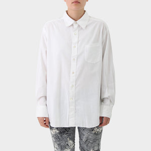 45rpm White Cotton Shirt