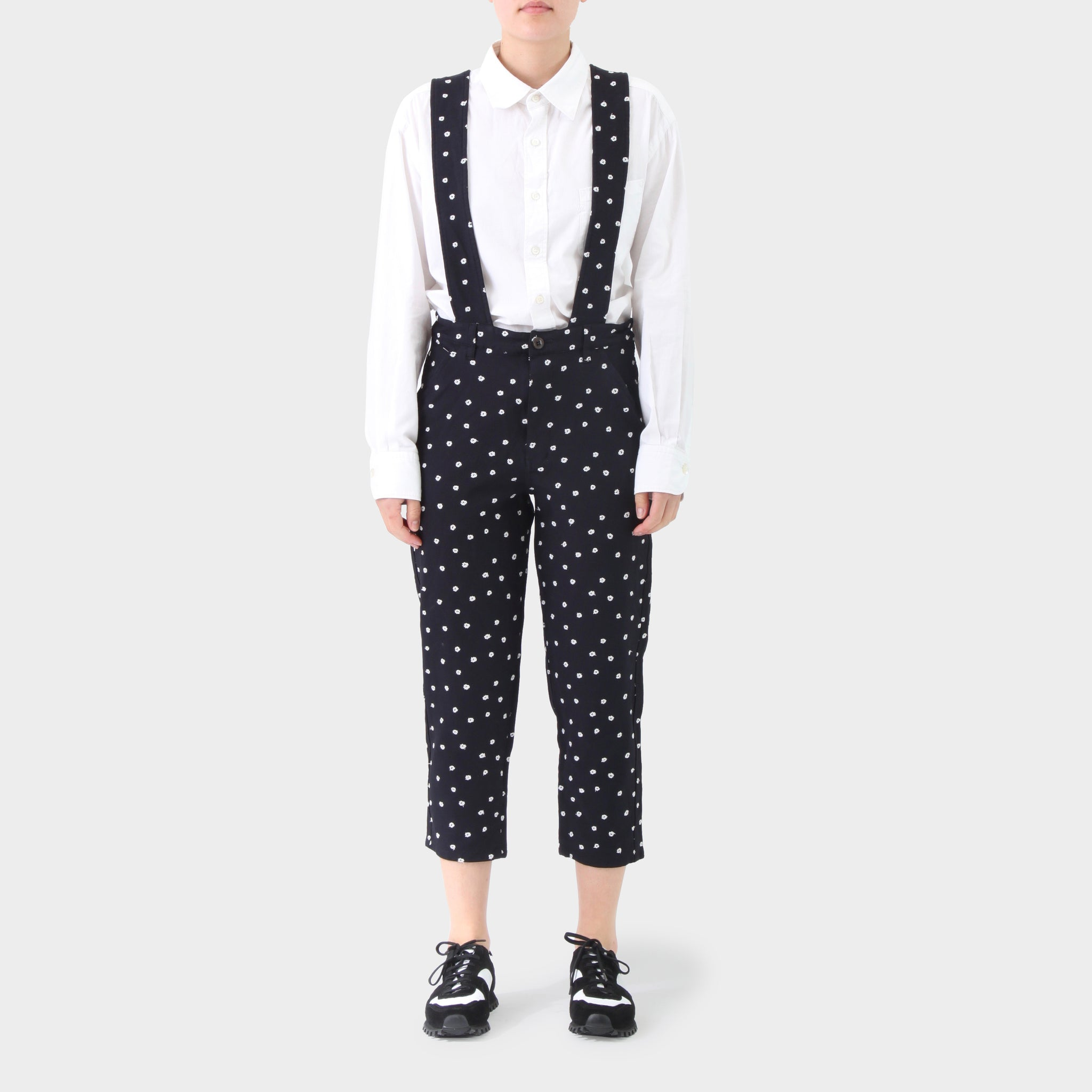 Comme des Garcons GIRL Embroidered Overalls