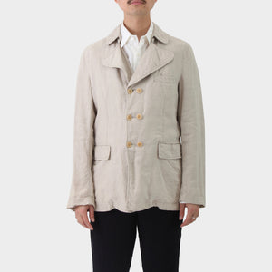 Comme des Garcons Evergreen Double Breasted Military Coat