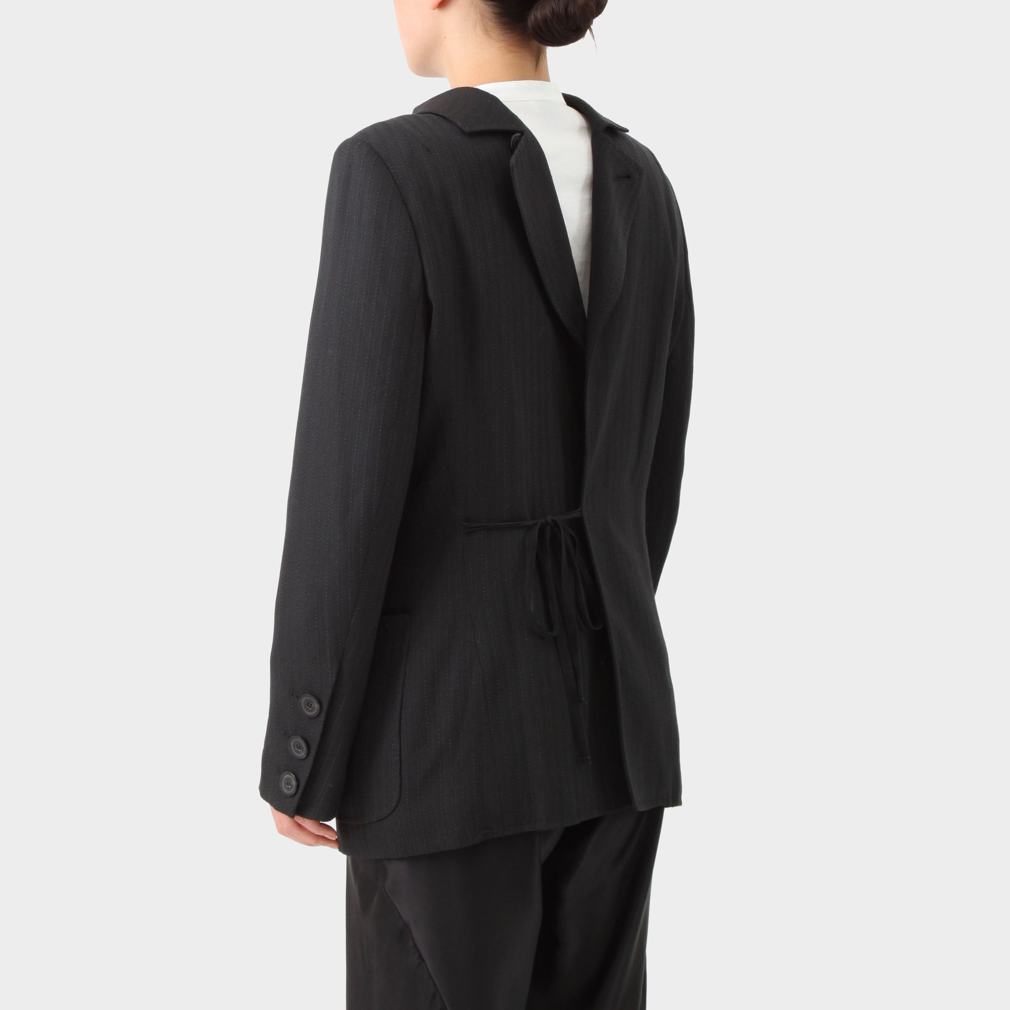 Ann Demeulemeester Vintage Backwards Tailored Jacket