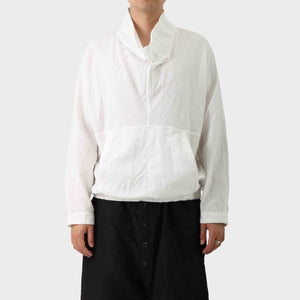 Issey Miyake Gauze Double- Layer Pull Over