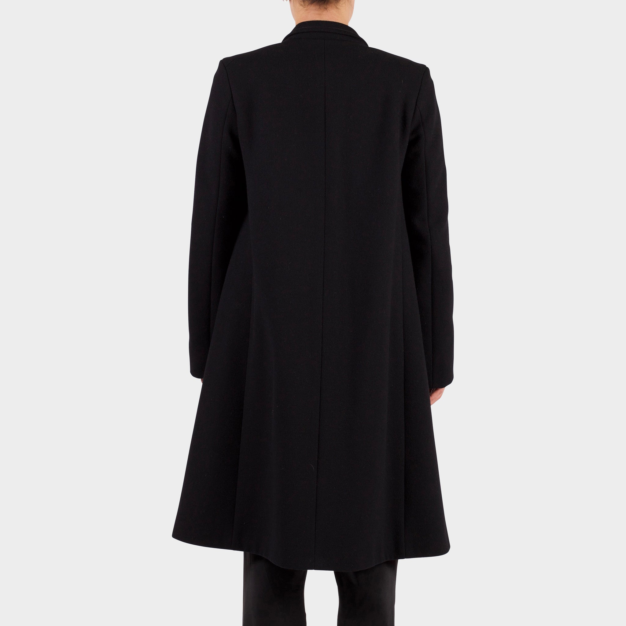 Jil Sander Black Wool Coat
