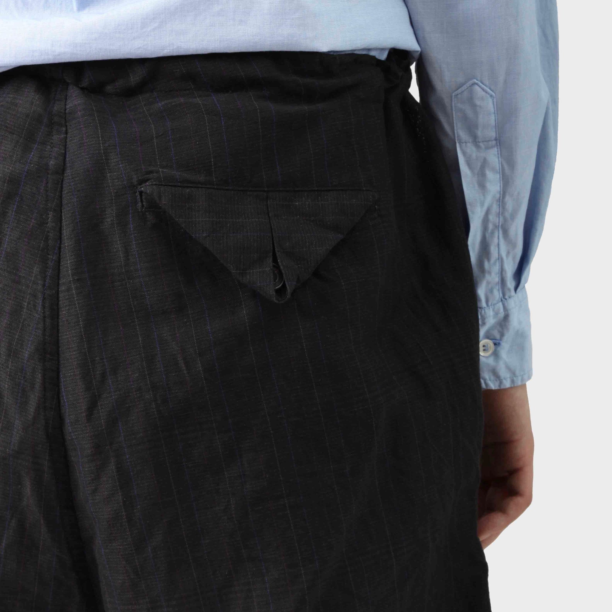 Paul Harnden Shoemakers Linen Cotton Drawstring Trousers