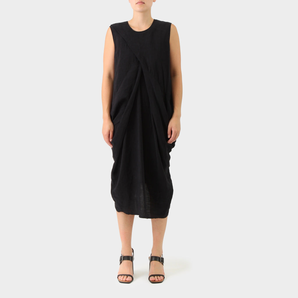 Uma Wang Linen Balloon Dress