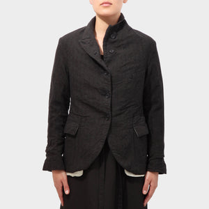 Paul Harnden Charcoal Wool 5-button jacket