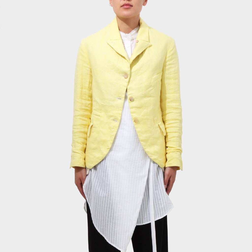 Paul Harnden Lemon Linen Jacket