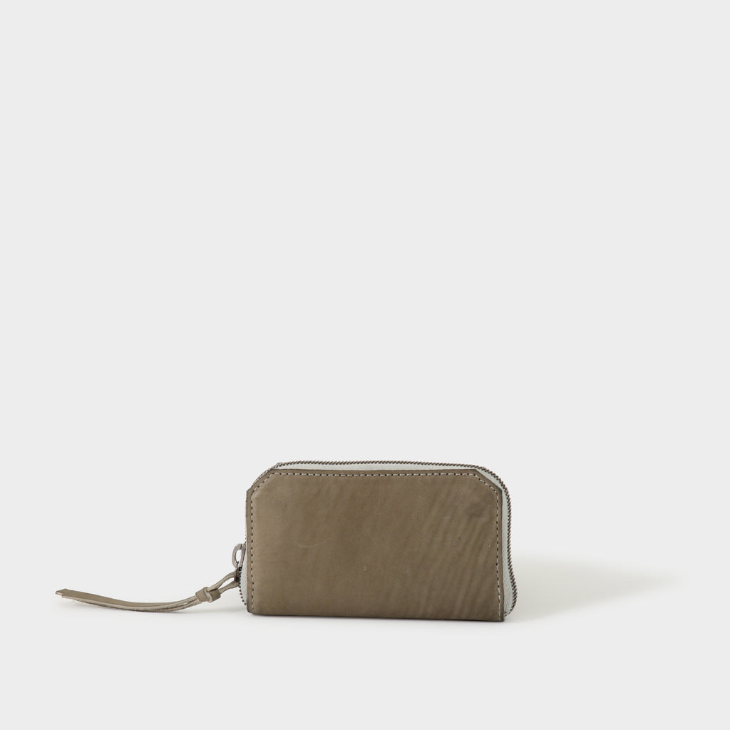 Tagliovivo Nubuck Zippered Purse