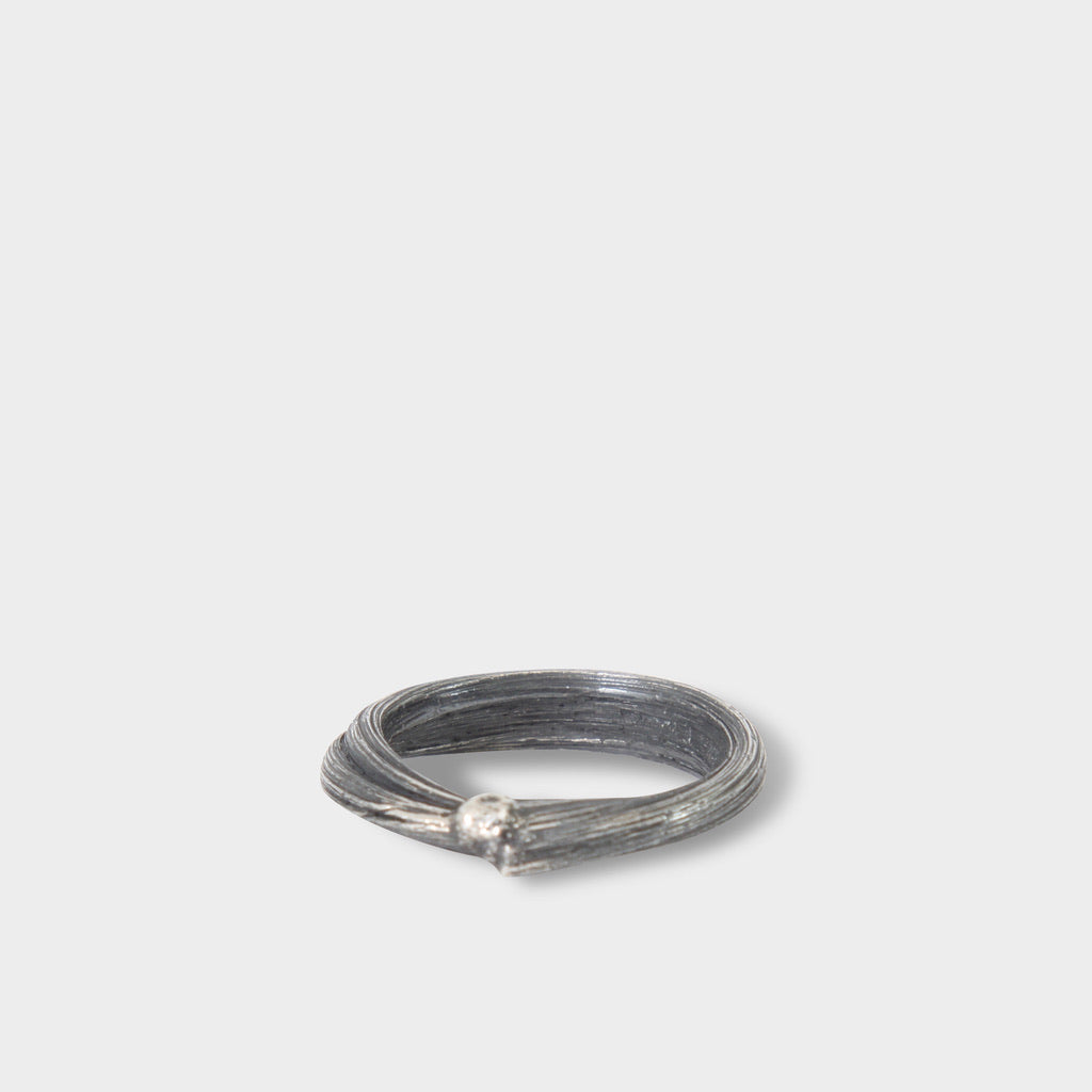 Detaj Silver Hair Ring