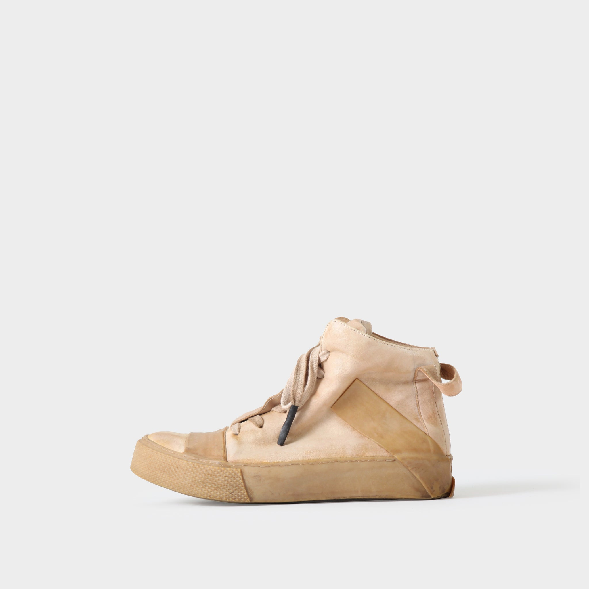 Boris Bidjan Saberi Vegetable Tan Leather Sneaker