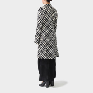 Comme des Garçons Hook and Eye Tail-Coat