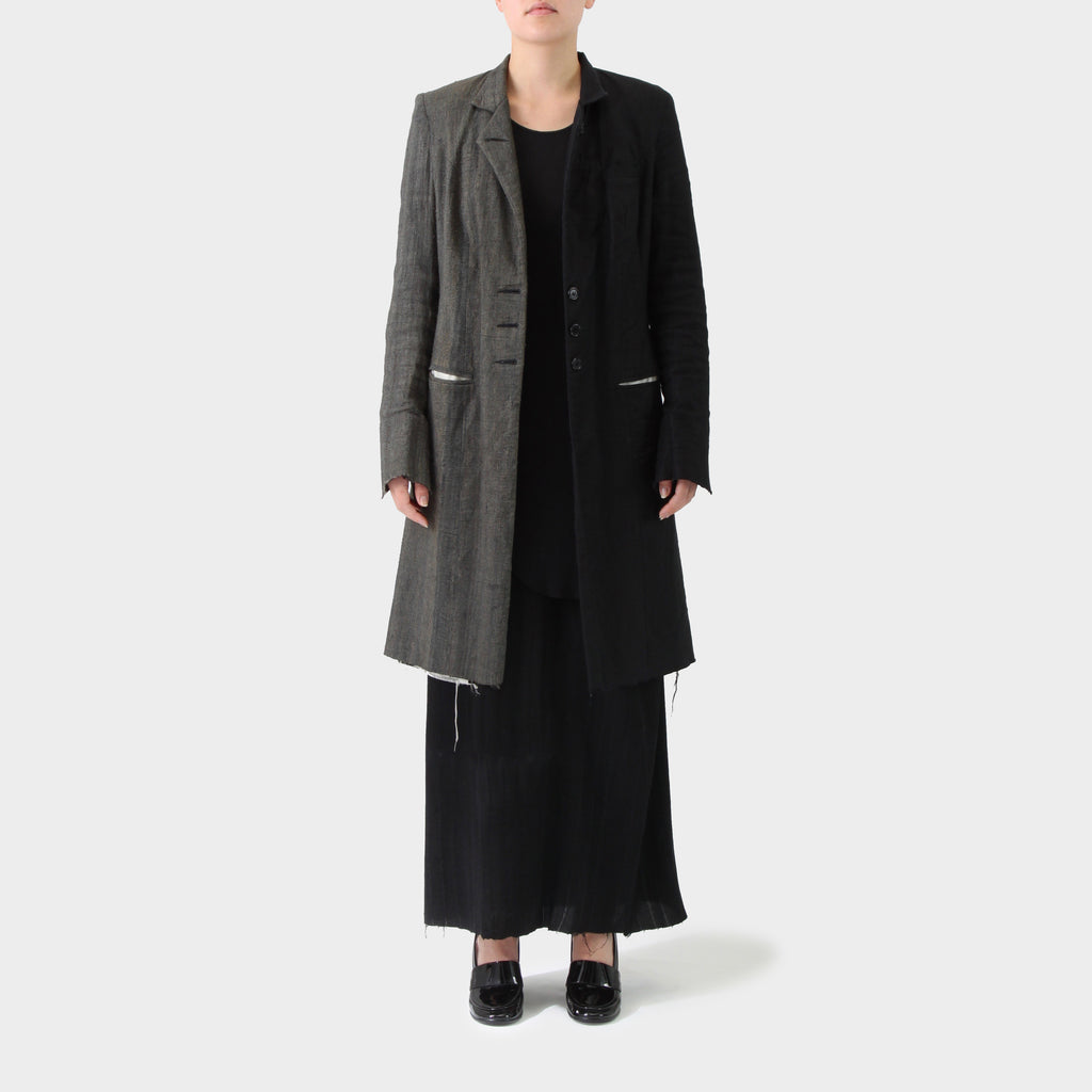 Elena Dawson Two-toned Tailored Coat