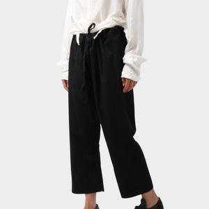 Elena Dawson Wool Drawstring Pants