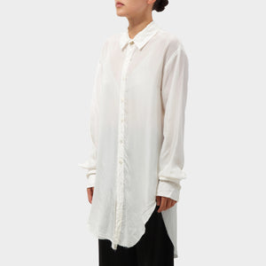 Elena Dawson Raw Edged Silk Shirt