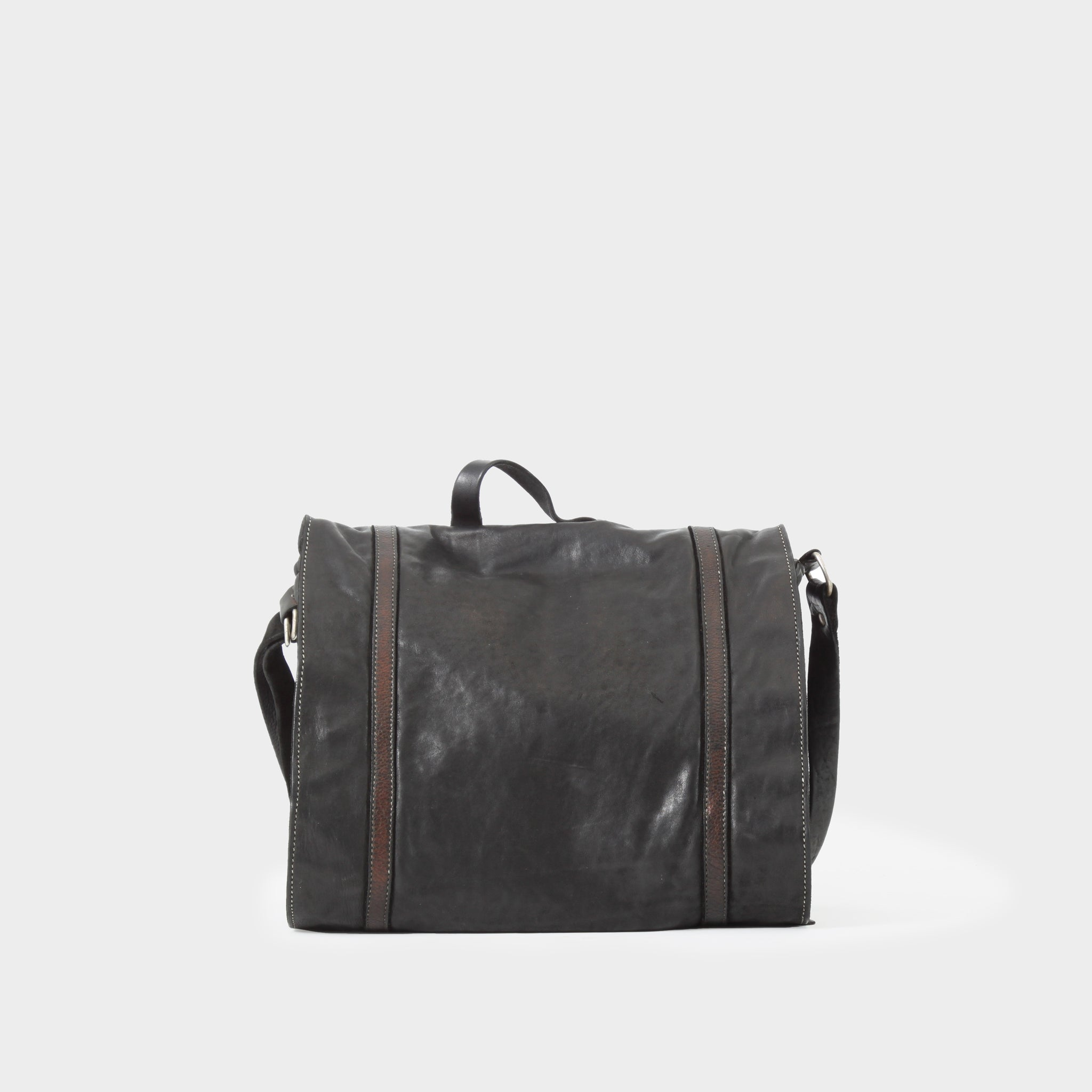 Guidi Leather Messenger Bag