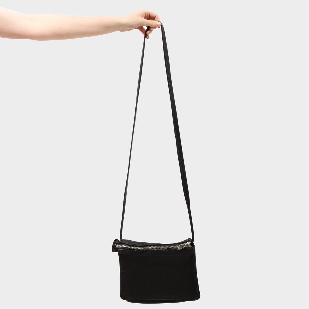 GUIDI PKT03 3 POCKET CROSS-BODY BAG