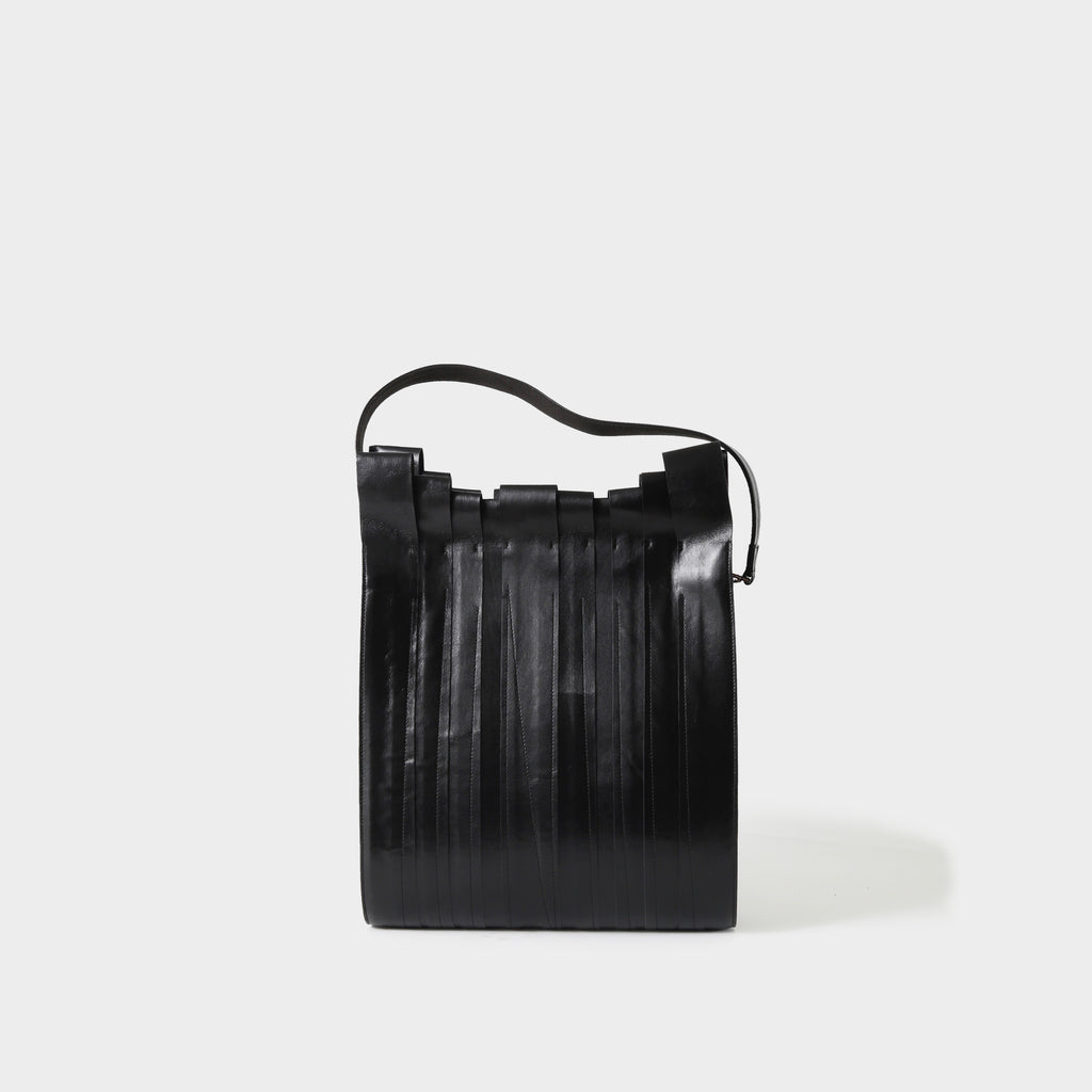 Issey Miyake Looped Leather Bag
