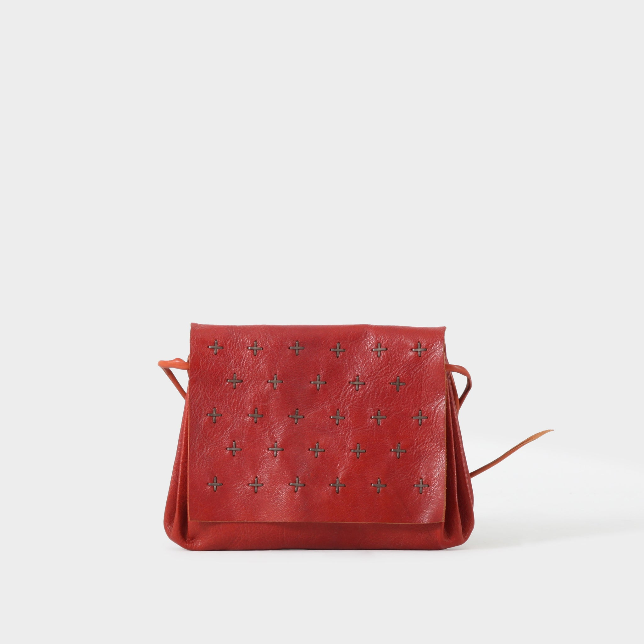 MA+ Studded Accordion Handbag