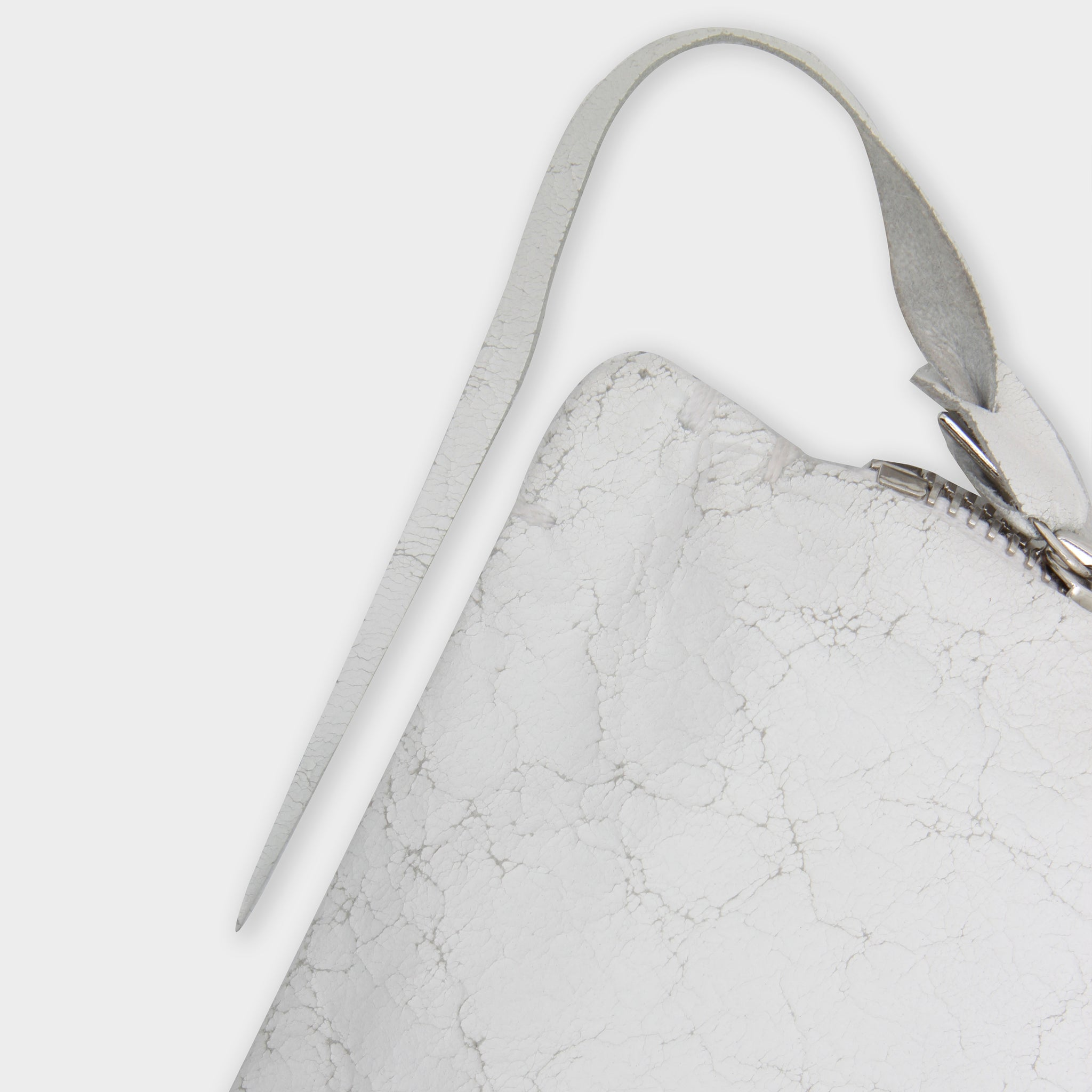 MA+ Cracked Leather Shoulder bag