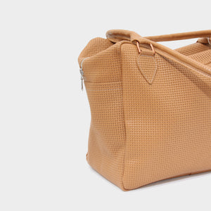PAUL HARNDEN 'BIG CHUNKY' WOVEN LEATHER BAG