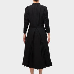 Paul Harnden Black Silk Day Dress