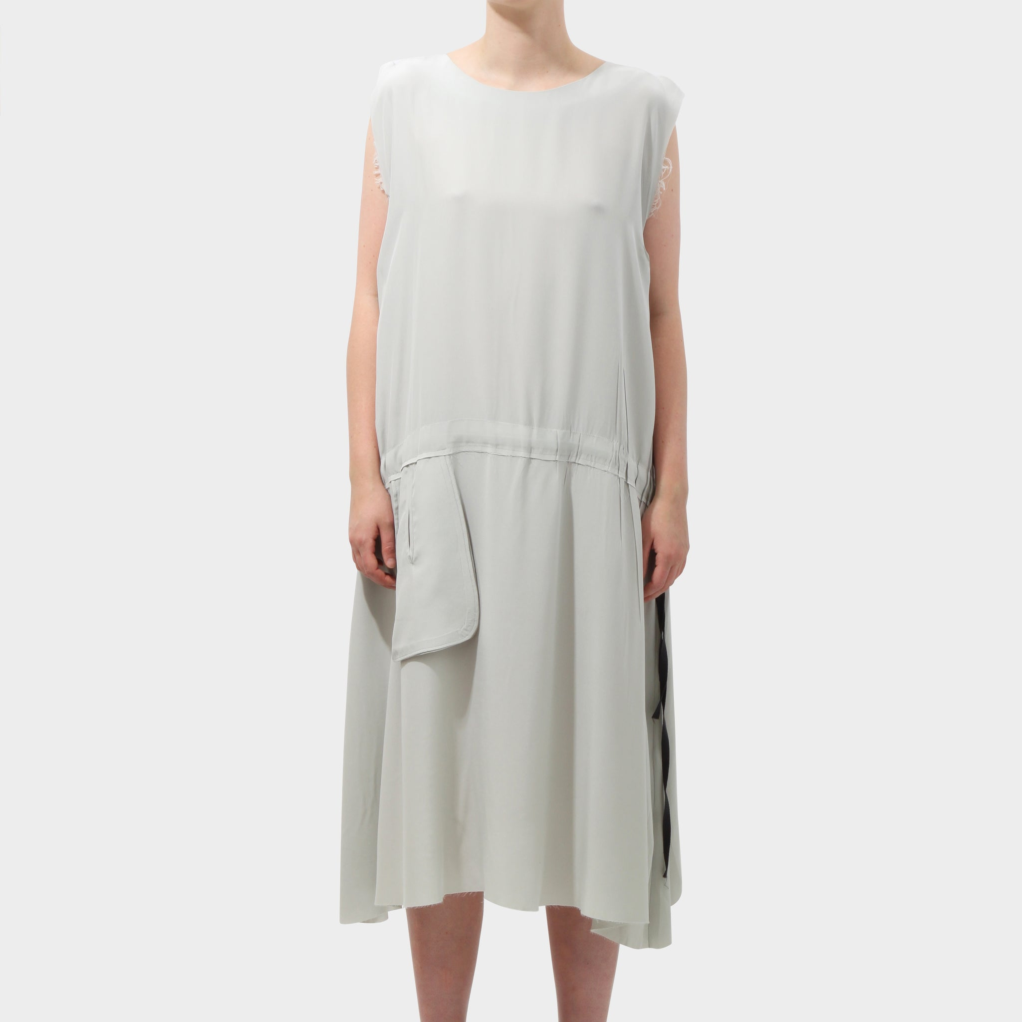 P.R. PATTERSON DRAWSTRING DRESS