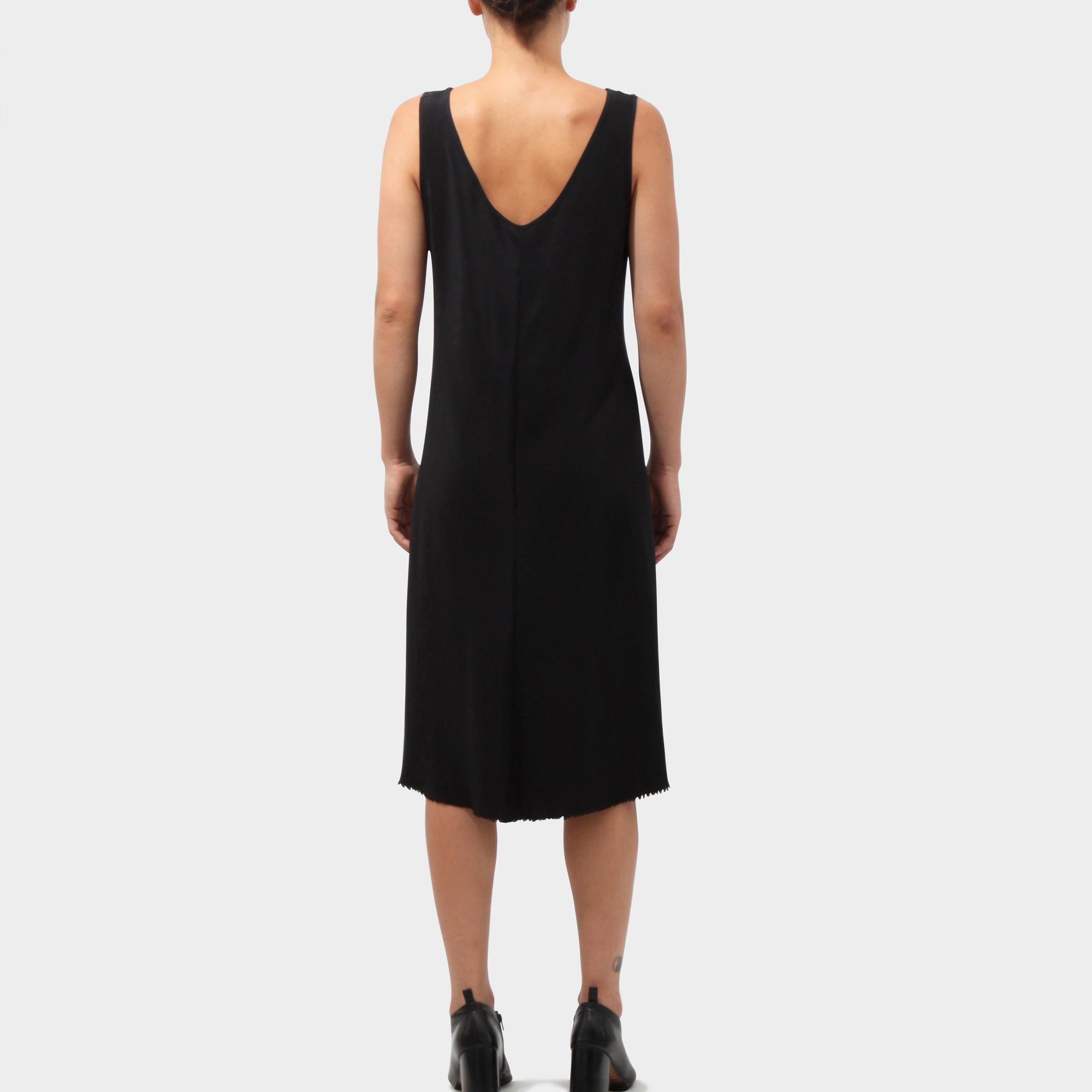 P.R. Patterson Silk Pin tuck Dress