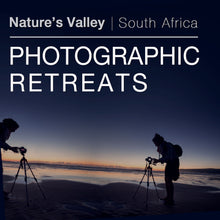 Book for Nature's Valley Photographic Retreats