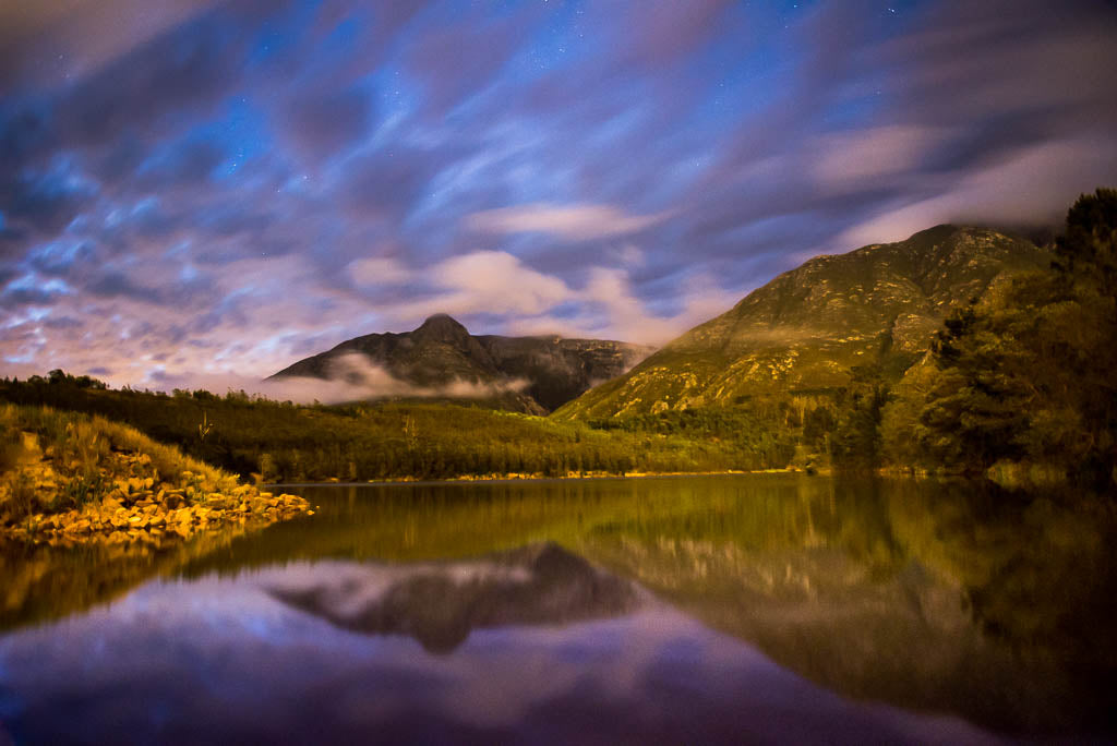 Stars, Clouds and a Dam – Swellendam