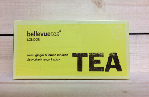 Bellevue Ginger & Lemon Infusion (25 Tea Bags)