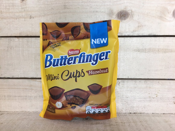 Butterfinger Mini Cups Hazelnut