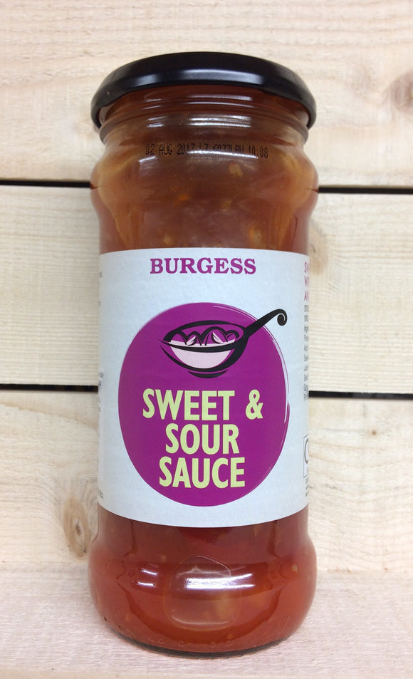 Burgess Sweet & Sour Sauce (350g)