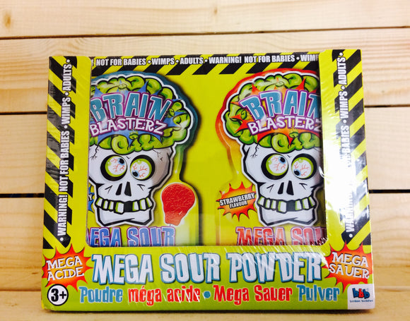 Brain Blasterz Mega Sour Powder (300g)