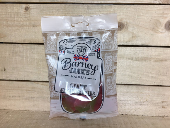 Barney Jacks Natural Giant Strawberries (140g)
