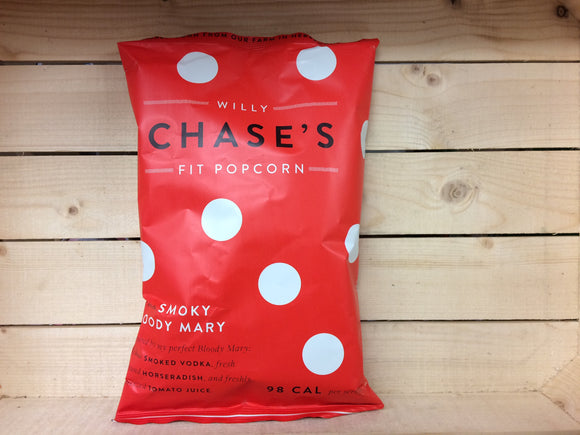 Willy Chase's Fit Popcorn smoked vodka, horseradish & Tomato Juice (80g)