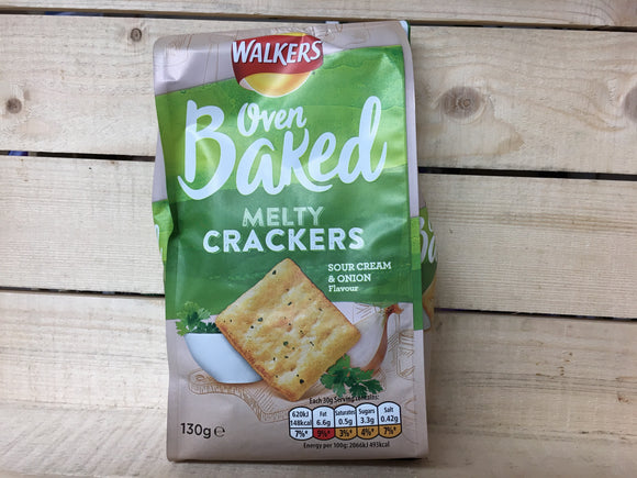 Walkers Baked Melty Crackers (130g)