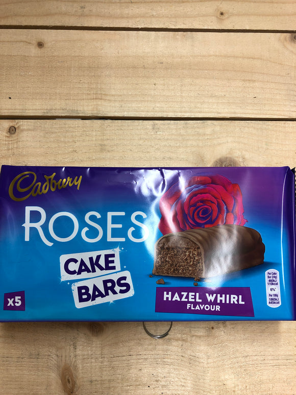 Cadbury Roses Cake Bars 5 Pack