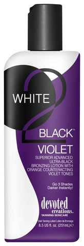 Devoted Creations White 2 Black Violet (251ml)