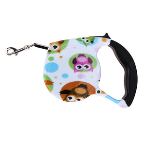 Owls Printed Leash - valutispetstore