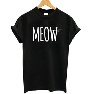 Meow T-shirt - valutispetstore