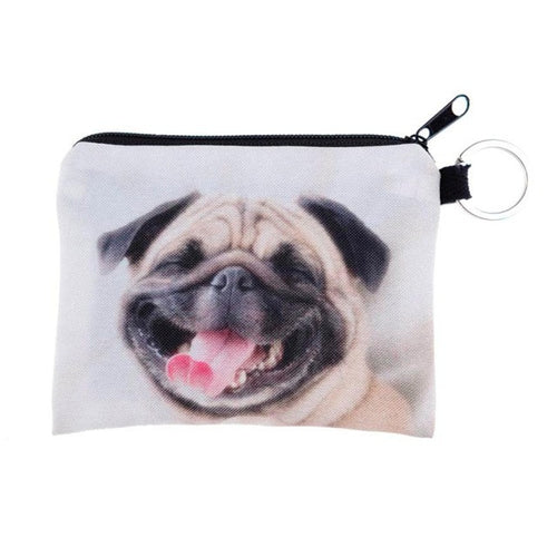 Happy Dog Zipper Wallet - valutispetstore