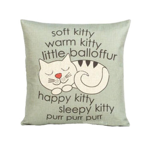 Soft Kitty Pillow Case - valutispetstore