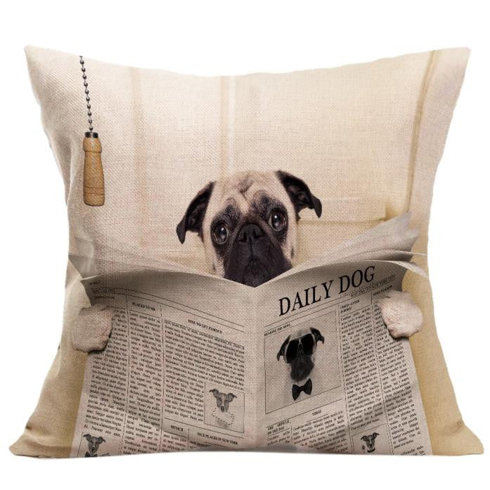 Vintage Dog Pillow Case - valutispetstore